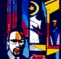 The Malcolm X window